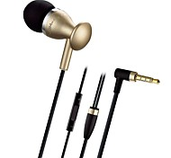 JBM MJ-9600 3.5mm  Super-Bass Stereo Microphone In-Ear Earphones Headphones for iPhone and Smartphones