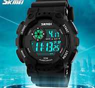 skmei® resistente desportivo calendário relógio digital de homens / cronógrafo / alarme / água
