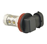 Carking™ H8/H11 50W 10SMD 2800ML 6000K White Light LED Fog Light Head Lamp Driving Bulb(DC 12V)