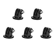 Tripod Mount Adapter for Suptig Camera / GoPro Hero 4/2 /3 / 3+ / SJ4000 - Black (5 PCS)