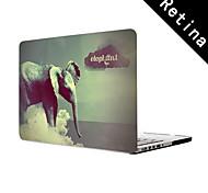 """el caso de protección de cuerpo completo diseño del elefante de 13 """"/ 15"""" macbook-pro con pantalla de retina"""