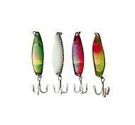 # Iscos Rotativos 6.5g g 4 pcs 50mm Pesca de Isco