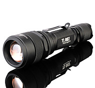 TanLu 5 Mode 1000 Lumens LED Flashlights/Handheld Flashlights 18650  LED Cree