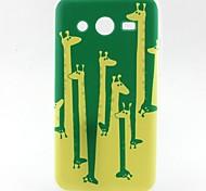 Giraffe Pattern TPU Material Soft Phone Case for Samsung G355H G530 G357F G360 G386F G850F G3500