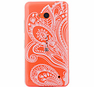 Left Flowers Pattern PC Material Phone Case for Nokia 640