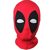 Cosplay Mask/Zentai Accessories Dead Super Hero Mutant Wilson Cosplay Mask Hood Balaclava Face Adjustable Halloween Black/Red Unisex
