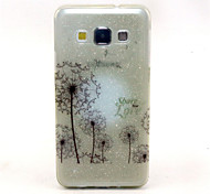 Dandelion Pattern Glitter TPU Cell Phone Soft Shell For Galaxy A3 /A5 /A7