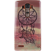Painted Campanula TPU Soft Case for LG G4