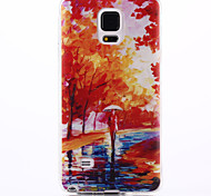 foresta di mangrovie modello materiale TPU soft phone per la galassia nota 4