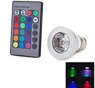 marsing® GU10 / E27 afstandsbediening 16 kleuren 4 modi rgb 3W 200lm leidde bol- (90-260V)