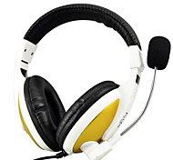 New Wired PC Gaming Headphones Noise-Cancelling Handsfree Headset with Microphone for Computer