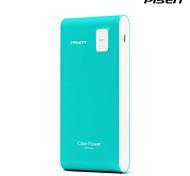 couleur Pisen cigare- banque de puissance 6000mAh 5V 1A usb moblie téléphone batterie externe portable pour tous les téléphones
