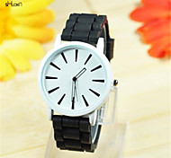 Women's Silicone Band Quartz Anolog Wrist Watch(Assorted Colors)