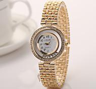 Geneva Women 2015 New Alloy Steel Quartz Watches Men Gold Watch Brand Analog Watches Top Quality