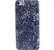 Flowers Pattern TPU Material Phone Case for iPhone 5C