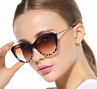Sunglasses Women's Elegant / Retro/Vintage / Fashion Cat-eye Black / White / Pink / Leopard Sunglasses Full-Rim