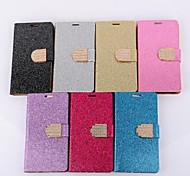 Plating Powder Fashion Mobile Phone Leather Phone Cases for LG L70(Assorted Colors)
