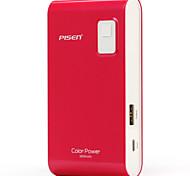 Pisen Color Portable charger - Power Bank 5600mAh Thin External Battery