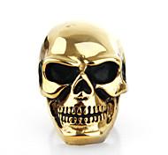 Fashion Skeleton Shape Titanium Steel Hot Sales Rings For Men(Silver,Gold,Black)(1Pc)