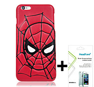 """Disney Spider Man Cover Case for Iphone6 4.7"""" Free with Headfore Screen Protector for Iphone6 4.7"""""""