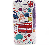 modello automobile rossa materiale TPU soft phone per lg mini g3