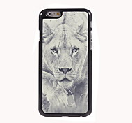 The Lion Walking Design Aluminum Hard Case for iPhone 6