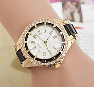 Ladies' Round Dial Case Alloy Watch Brand Fashion Quartz Watch Cool Watches Unique Watches