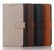 Caso ma loco lujo modelo billetera de cuero genuino 5,5 pulgadas para Sony Xperia c4 (colores surtidos)