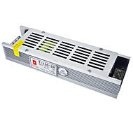 AC 110 / 220V to DC 24V 6.25A 150W High Efficiency Strip Switching Power Supply for LED Strip.