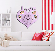 Large Size Wall Clock with Fashion Picture Frame Function Design