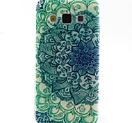 For Samsung Galaxy Case Pattern Case Back Cover Case Flower TPU Samsung A5 / A3
