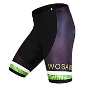 WOSAWE Men's Summer Bike Cycling Quick Dry Breathable MTB Shorts with Professional 4D Gel Padded Woemn's Pant