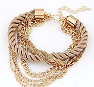 May Polly  Are all-match multilayer woven Bracelet