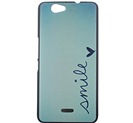 Smile Pattern PC Hard Case for Wiko Getaway