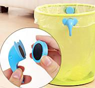 Set of 2Elephant Nose Shaped Rubbish Bin Clips Secure Wastebasket Garbage Bags(Random Color)