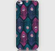Feather Pattern Phone Back Case Cover for iPhone5C