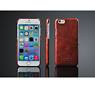 PU Leather Back Cover for iPhone 6/6S