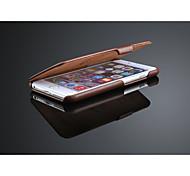 étui en cuir flip pour l'iphone 6 plus