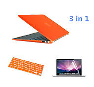 2016 Newest  PVC MacBook Case with Keyboard Cover and Screen Flim for  MacBook Air 11.6 inch