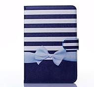 bowknot Muster PU-Leder Ganzkörper-Fall mit Ständer für iPad mini 1/2/3