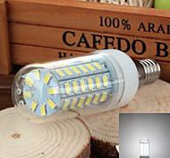 e14 5W 700lm 6500k 56-SMD 5730 a mené la lampe de maïs de la lumière blanche froide (220v ~ 240v)