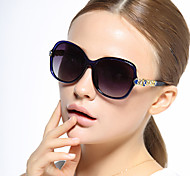 Sunglasses Women's Classic / Elegant / Retro/Vintage / Modern / Fashion / Polarized Oversized Black / Red / Purple / Blue Sunglasses