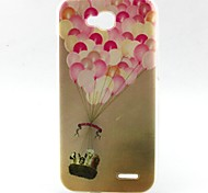 Balloon Pattern TPU Material Soft Phone Case for LG L90 D405