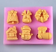 prodotti di Natale torta fondente stampo in silicone del cioccolato, torta al cioccolato fondente stampo in silicone, attrezzi della