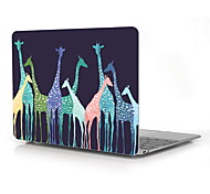 "Giraffe Design Full-Body Protective Case for 12"" Inch The New Macbook with Retina Display (2015 Release)"