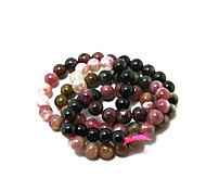 Beadia 38Cm/Str (Approx 70Pcs) Natural Tourmaline Beads 6mm Round Stone Loose Beads DIY Accessories