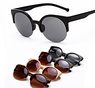 Women 's 100% UV Round Sunglasses