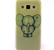 For Samsung Galaxy Case Pattern Case Back Cover Case Elephant TPU Samsung A5 / A3