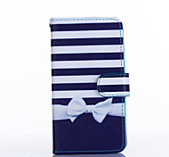 Bowknot Pattern PU Leather Full Body Case with Stand for Multiple LG G3/G3MINI/L90