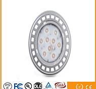 15 w 12 * SMD 2835 1125lm 6500 k freddo retrofit incasso bianco luci decorative incasso dc 12 / ac 12 V